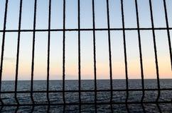 Filet au-dessus de l'Océan Atlantique Photo libre de droits