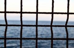 Filet au-dessus de l'Océan Atlantique Images libres de droits