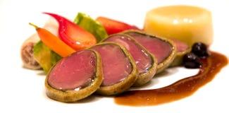Filet d'élans rôti par four Images stock