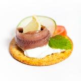 Filet d'anchois Images libres de droits