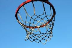 Filet de basket-ball Photos stock