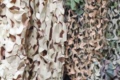 Filet de camouflage photographie stock