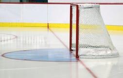 Filet de hockey sur glace photo libre de droits