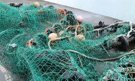 Filet de pêche. Images libres de droits