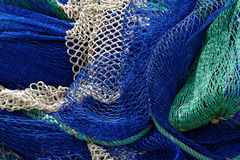 Filet de pêche Photos stock
