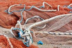 Filet de pêche Images stock