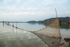 Filet de pêche Photos libres de droits