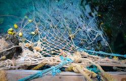 Filet de pêche photographie stock