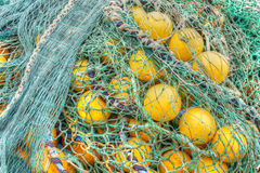 Filet de pêche Photographie stock