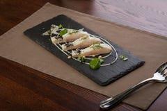 Filet de poisson à chair blanche Images stock