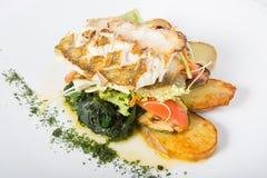 Filet de poissons blancs Photographie stock