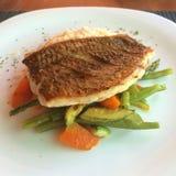 Filet de poissons grillé Photo libre de droits