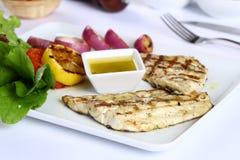 Filet de poissons grillé photographie stock libre de droits