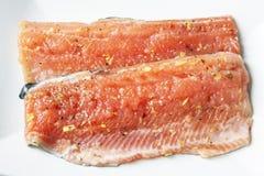 Filet de poissons rouge photos libres de droits