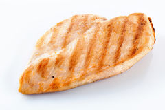 Filet de poulet d'isolement photo libre de droits