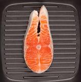 Filet de truite Photo stock