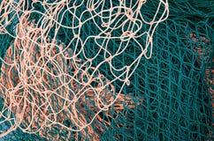 Filet de Web pour la pêche Photo libre de droits