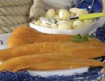 Filet des poissons crus Images libres de droits