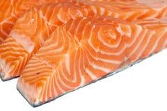 Filet des saumons image stock