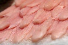 Filet of fish on market Stock Photos