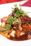 Filet gastronome d'autruche Images libres de droits