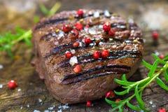 Filet grillé de boeuf Photographie stock libre de droits