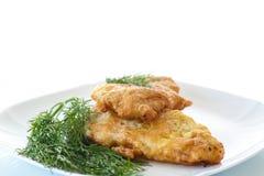 Filet grillé de poulet image stock