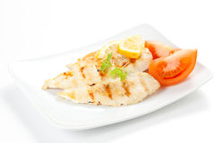 Filet grilled chicken Stock Images