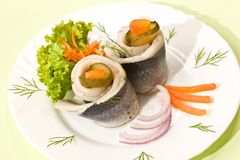 Filet of herring Royalty Free Stock Photos