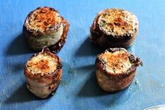 Filet med örter i baconlaget - SERIE - bild 7 av 8 Arkivfoto
