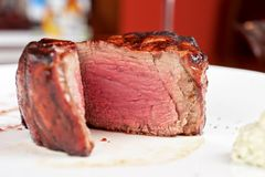 Filet mignon Stock Photos