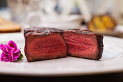 Free Filet Mignon Meal Stock Photography - 75796942