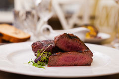 Filet mignon meal Stock Image