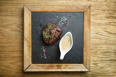 Filet mignon meal Stock Images