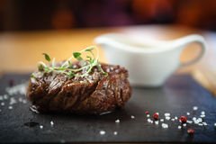 Filet mignon meal Royalty Free Stock Photos