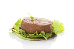 Filet mignon, tenderloin steak. Royalty Free Stock Image