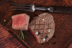 Filet mignon, tenderloin steak. Stock Images