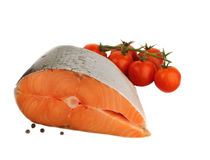 Filet of salmon Stock Photography