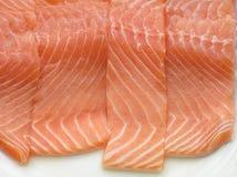 Filet saumoné photo stock