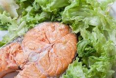 Filet saumoné Photo libre de droits