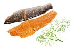 Filet saumoné Photos libres de droits