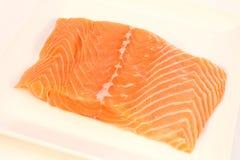 Filet saumoné image stock