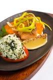 Filet saumoné grillé photo libre de droits