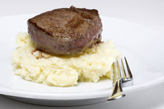 Filet steak stock photography