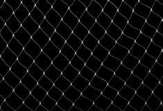 Filet sur le noir photographie stock libre de droits