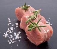 Filet van varkensvlees Stock Afbeeldingen