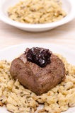 Filet from venison Royalty Free Stock Photos