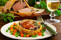 Filet Wellington. Royalty Free Stock Photos