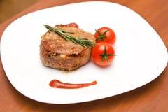 Filete de carne de vaca Fotos de archivo libres de regalías