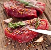 Filete de carne de vaca. imágenes de archivo libres de regalías